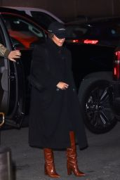 Vanessa Hudgens - Arriving at Madison Square Garden in NYC 01/22/2020