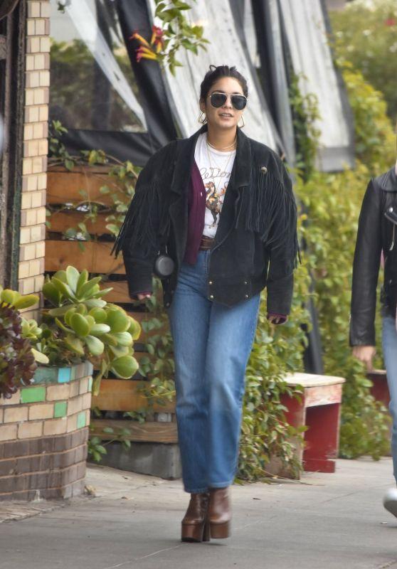 Vanessa Hudgens Street Style - All Times in Los Feliz 01/16/2020