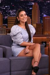 Vanessa Hudgens - Tonight Show Starring Jimmy Fallon in NYC 01/17/2020