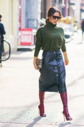 Victoria Beckham Style and Fashion - NYC 01/25/2020