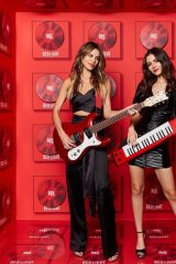 Victoria Justice and Madison Reed - Red Light Management Grammy 2020 After Party Photobooth