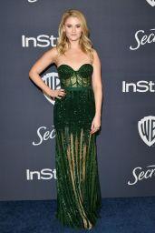 Virginia Gardner – 2020 Warner Bros. and InStyle Golden Globe After Party