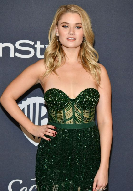Virginia Gardner – 2020 Warner Bros. and InStyle Golden Globe After Party