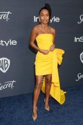 Yara Shahidi – Warner Bros. and InStyle 2020 Golden Globe After Party