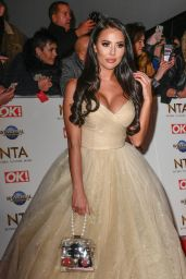Yazmin Oukhellou – National Television Awards 2020 in London
