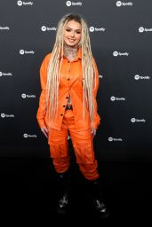 Zhavia Ward – Spotify Best New Artist 2020 Party in LA