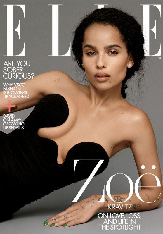 Zoë Kravitz - ELLE Magazine US February 2020 Issue