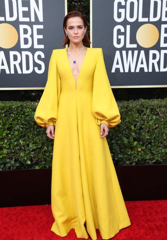 Zoey Deutch – 2020 Golden Globe Awards