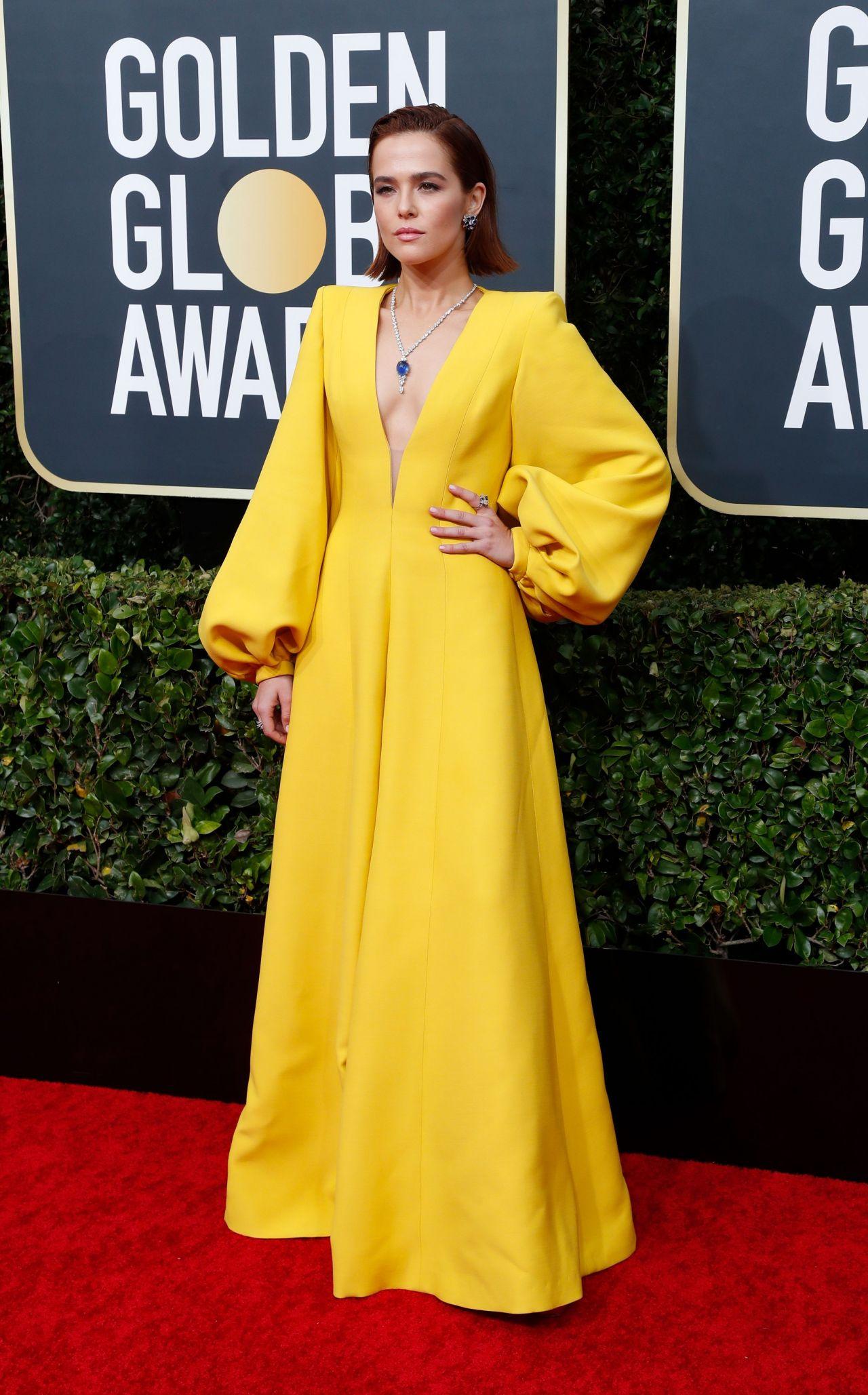 Zoey Deutch 2020 Golden Globe Awards