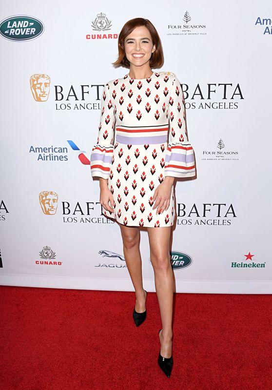 Zoey Deutch - BAFTA Los Angeles Tea Party 01/04/2020