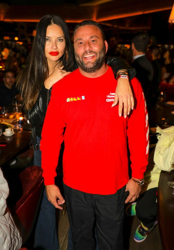Adriana Lima - Belvedere Private Dinner Party in Miami 02/02/2020