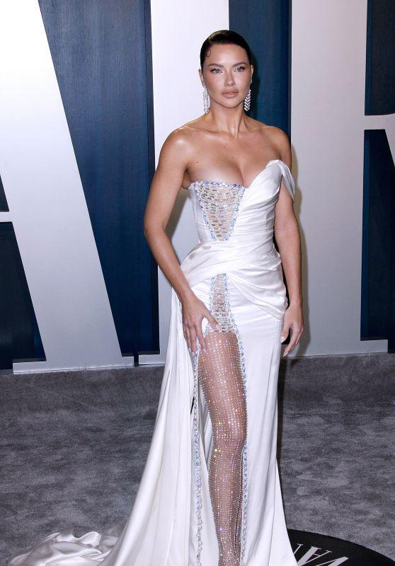 Adriana Lima – Vanity Fair Oscar Party 2020 (more photos)