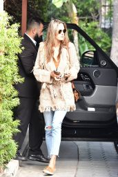 Alessandra Ambrosio - Arrives for a Meeting in Beverly Hills 02/03/2020