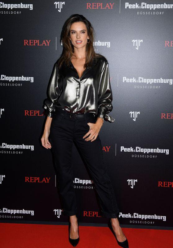 Alessandra Ambrosio – REPLAY Peek & Cloppenburg in Dusseldorf 02/13/2020