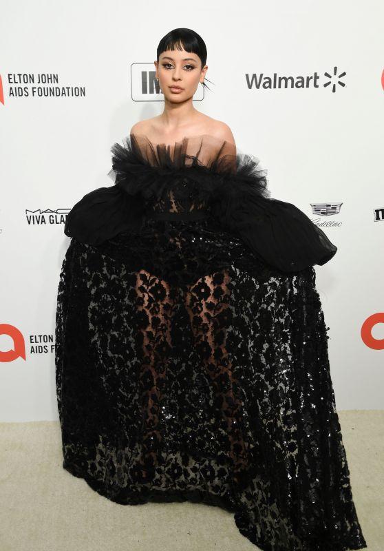 Alexa Demie – Elton John AIDS Foundation Oscar 2020 Viewing Party