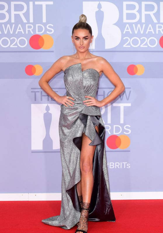 Amber Davies – BRIT Awards 2020