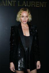 Amber Valletta - Saint Laurent Show at Paris Fashion Week 02/25/2020