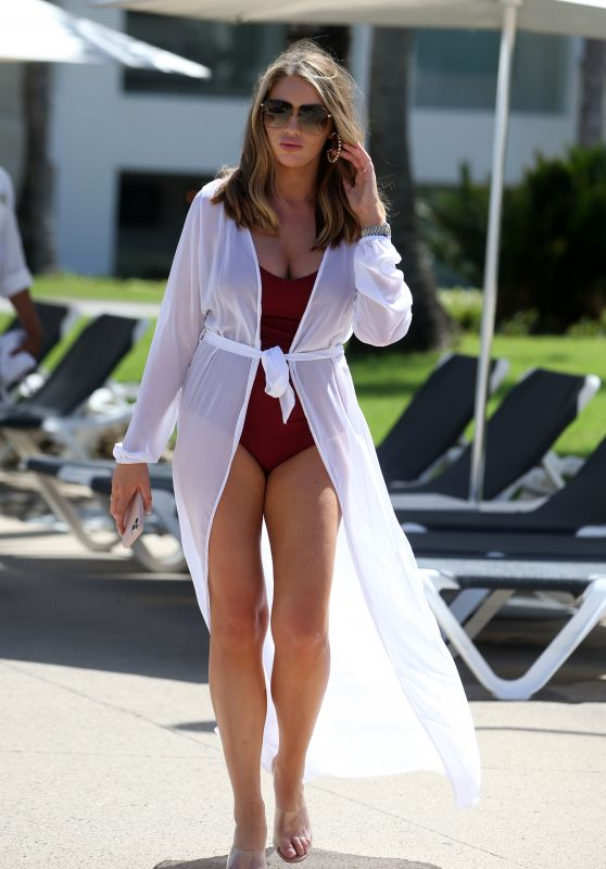 "Amy Childs - ""Celebs Go Dating"" TV Show in Punta Cuna 02/16/2020"