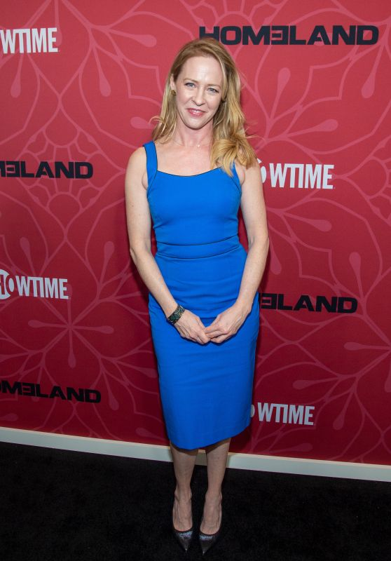 "Amy Hargreaves – ""Homeland"" TV Show Final Season Premiere in NY"