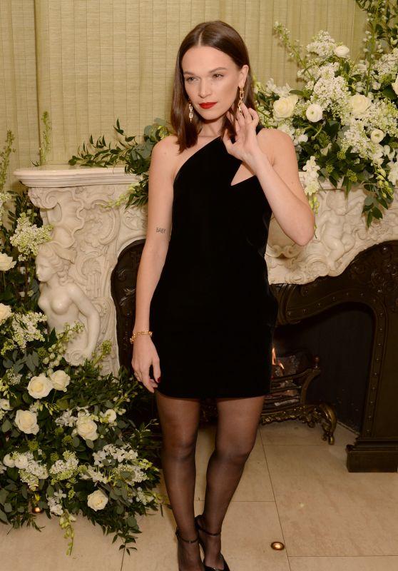 Anna Brewster – BAFTA Vogue x Tiffany Fashion and Film Afterparty 02/2/2020