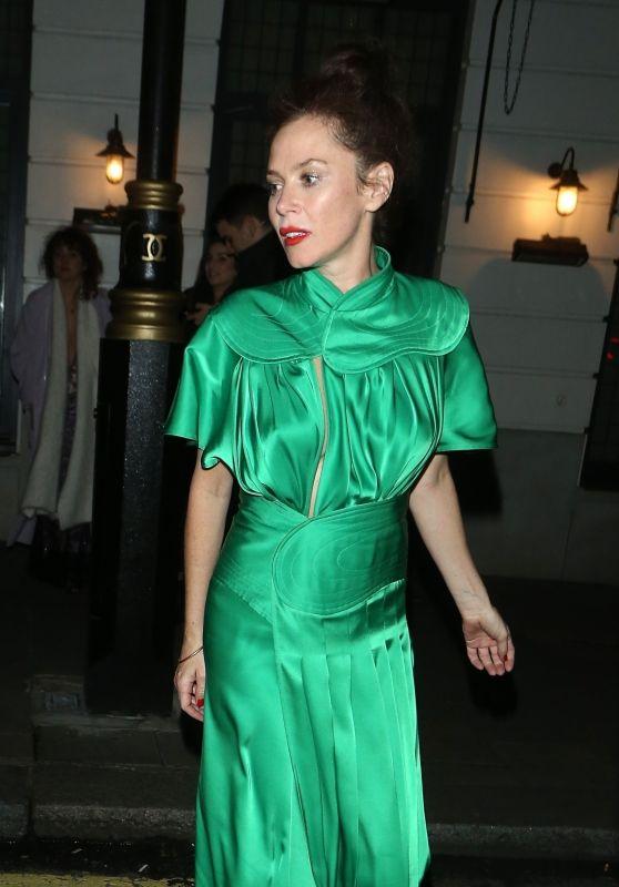 Anna Friel - Leaves Little House in London 02/27/2020