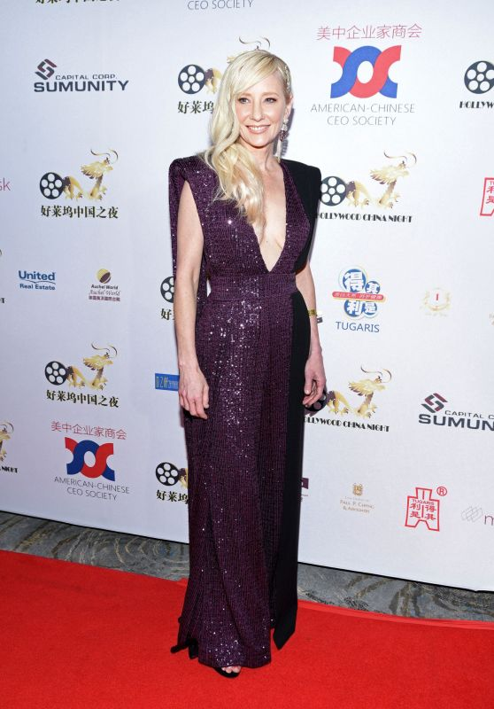 Anne Heche - Hollywood China Night Oscar Viewing Party 02/09/2020