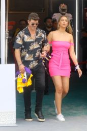 April Love Geary and Robin Thicke - Pre-Super Bowl Party in Miami 02/01/2020