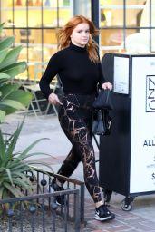 Ariel Winter in Spandex - Nine Zero One Salon in West Hollywood 02/25/2020