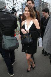 Ashley Benson - Arrives at the Balmain Show in Paris 02/28/2020