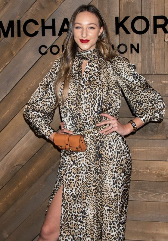 Ava Michelle – Michael Kors Fashion Show in NY 02/12/2020