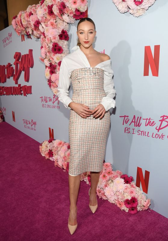 """Ava Michelle – """"To All The Boys: P.S. I Still Love You"""" Premiere in Hollywood"""