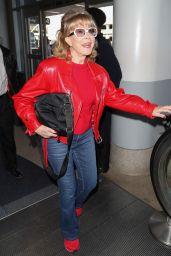 Barbara Eden - LAX Airport in LA 02/12/2020