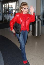 Barbara Eden - LAX Airport in LA 02/12/2020