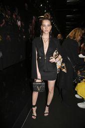Barbara Palvin - Versace Fashion Show in Milan 02/21/2020