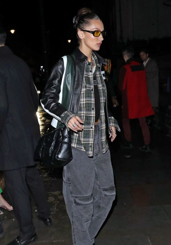 Bella Hadid - Arrive at the Sony BRIT Awards 2020 After-Party