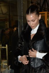 Bella Hadid – Arriving at the Love Magazine Party in London 02/17/2020