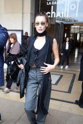 Bella Hadid - Haider Ackermann Fashion Show in Paris 02/29/2020
