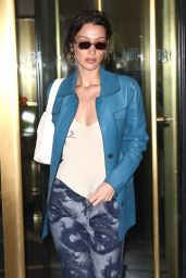 Bella Hadid - Out in NYC 02/10/2020