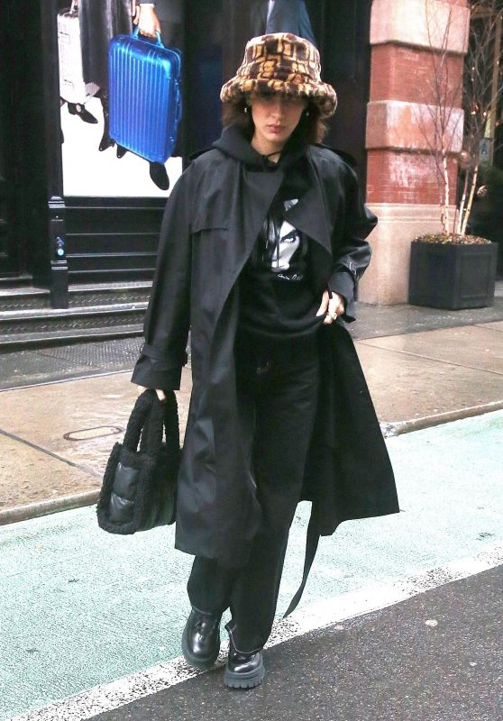 Bella Hadid - Out in NYC 02/13/2020