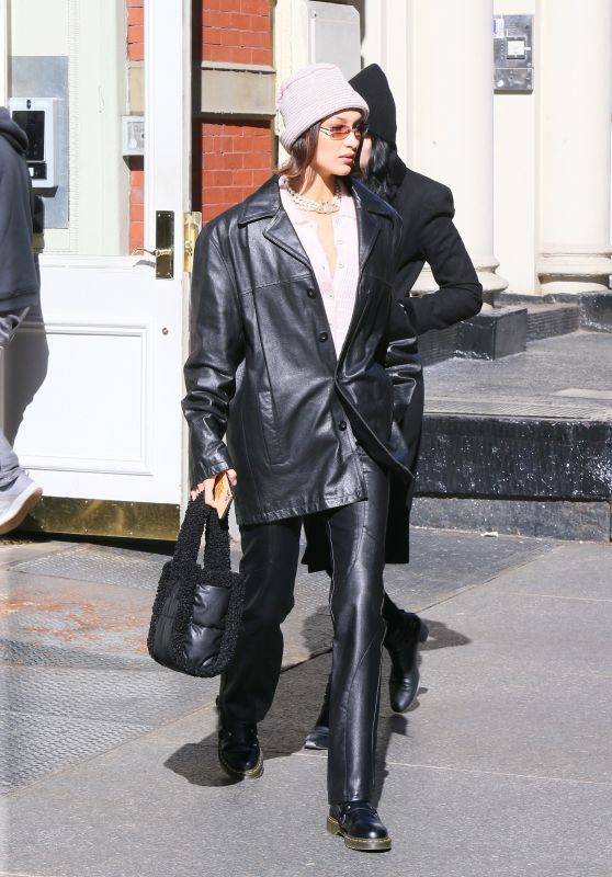 Bella Hadid - Out in NYC 02/14/2020