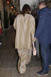 Bella Hadid Style - Leaving Her Hotel in Paris 02/28/2020