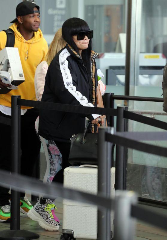 Blac Chyna - LAX Airport 02/05/2020