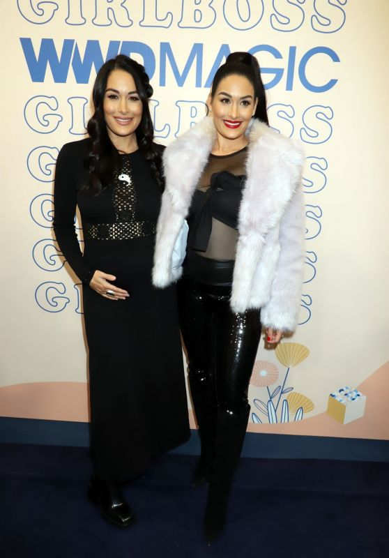 Brie Bella and Nikki Bella - Boss Babes & CEOs Panel in Las Vegas 02/07/2020