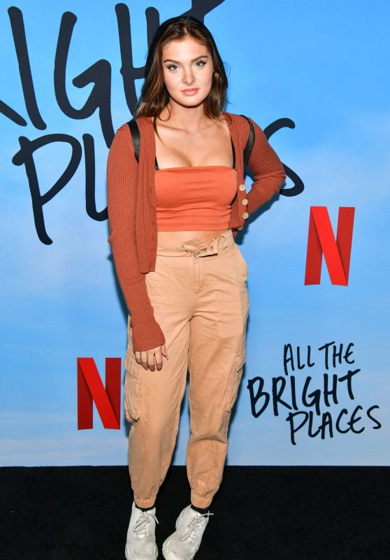 """Brighton Sharbino – """"All The Bright Places"""" Special Screening in Hollywood"""