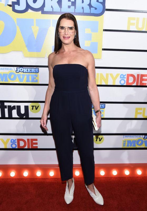 "Brooke Shields – ""Impractical Jokers: The Movie"" Screening in NY"