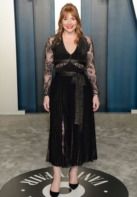 Bryce Dallas Howard – Vanity Fair Oscar 2020 Party