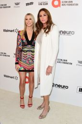 Caitlyn Jenner and Sophia Hutchins – Elton John AIDS Foundation Oscar 2020 Viewing Party