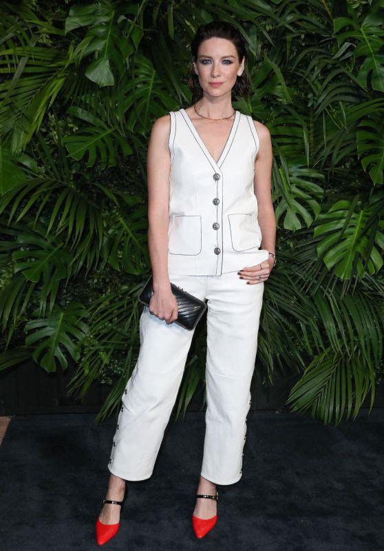 Caitriona Balfe – Charles Finch and Chanel Pre-Oscar Awards 2020 Dinner