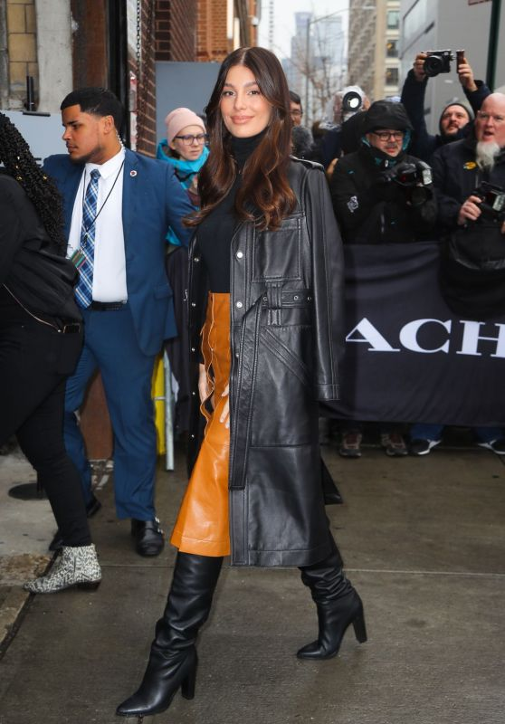 Camila Morrone - Arriving at the Coach Fashion Show in NYC 02/11/2020