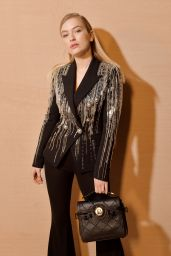 Camille Razat – Balmain Show at Paris Fashion Week 02/28/2020